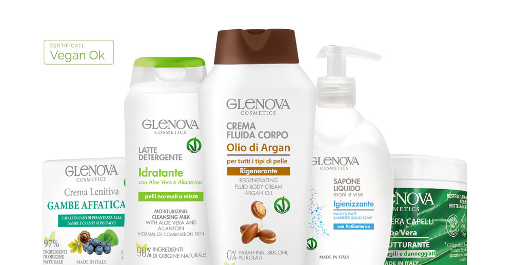 Glenova Cosmetics - i nostri prodotti